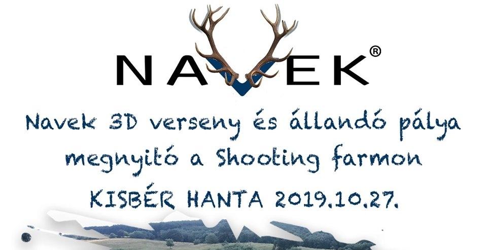 Navek – Shooting Farm állandó pályanyitó 3D verseny